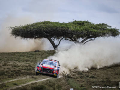 Rally Kenya, day-3: Thierry Neuville si conferma leader davanti alle Toyota