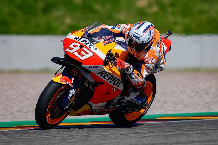 MotoGP, GP Germania 2021: Marc Marquez sfida Quartararo e Oliveira per la pole, Bagnaia deve difendersi