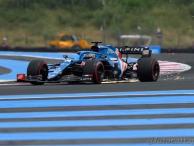"""F1, Fernando Alonso: """"Felice del risultato di oggi, speravo di passare Gasly e Ricciardo negli ultimi giri"""""""