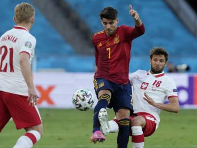 VIDEO Spagna-Polonia 1-1, highlights, gol e sintesi Europei: Lewandowski risponde a Morata e a Siviglia c'è un pari