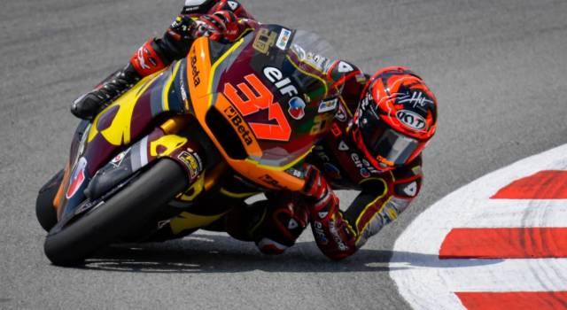 Moto2, risultati FP1 GP Olanda 2021: Augusto e Raul Fernandez fanno il vuoto, bene Corsi 5°, Bezzecchi è 7°