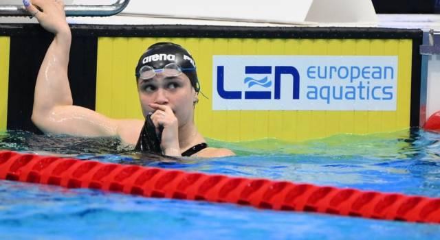 """Nuoto, Benedetta Pilato: """"A Tokyo vorrò migliorarmi, l'apprezzamento di Federica Pellegrini mi ha fatto effetto"""""""