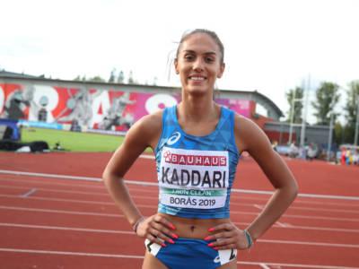"""Atletica, Dalia Kaddari: """"Volevo questa semifinale, ora concentrazione per centrare il sogno della finale"""""""