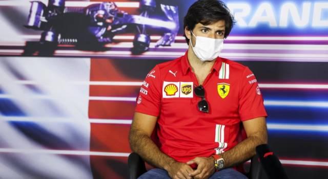 """F1, Carlos Sainz: """"Sapevamo di soffrire qui in Francia, abbiamo problemi con le gomme medie"""""""