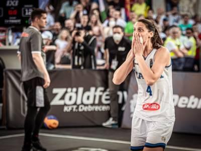 """Basket, Chiara Consolini: """"Le Olimpiadi con il 3×3 una gioia immensa. Italia competitiva agli Europei"""""""