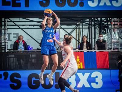 Basket 3×3: Italia, donne a Debrecen, c'è la seconda chance per Tokyo. Le particolarità del Preolimpico ungherese