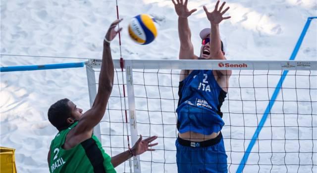 Beach volley, World Tour 2021 Ostrava. Impresa Windisch/Cottafava! Battuti Guto/Arthur: sono in tabellone principale!