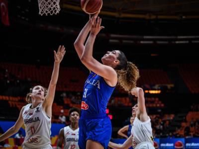 Basket femminile, Italia-Serbia 81-86 dts: le pagelle delle azzurre. Lorela Cubaj sugli scudi, Zandalasini, partita difficile