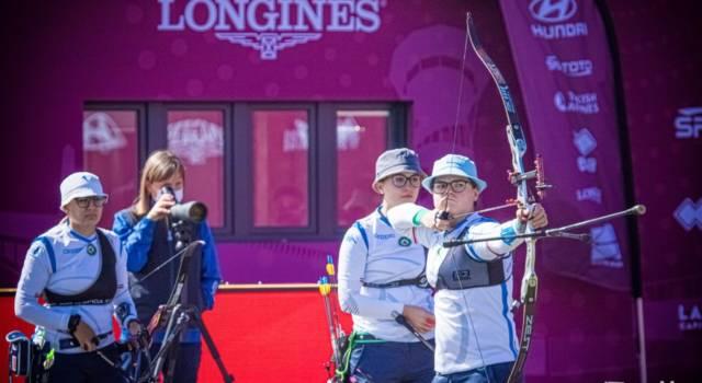 Tiro con l'arco, le azzurre scoccano la freccia su Tokyo e si qualificano alle Olimpiadi!