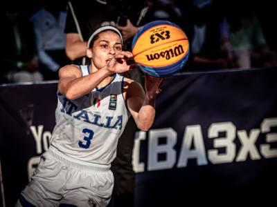 Basket 3×3, Olimpiadi Tokyo: le convocate e i roster delle Nazionali del torneo femminile