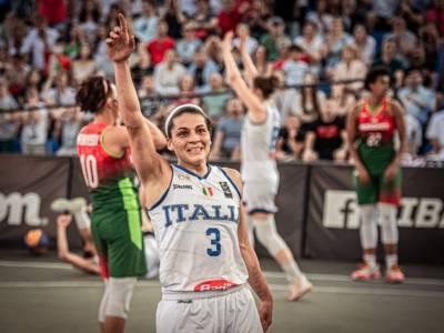 Basket 3×3: Rae Lin D'Alie, un tiro, la difesa, Tokyo e l'Italia che non molla mai