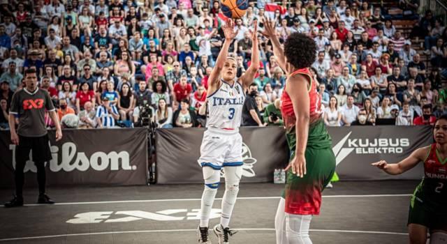 VIDEO Rae Lin D'Alie spedisce l'Italia alle Olimpiadi: canestro sulla sirena, basket 3×3 in festa. Buzzer da infarto