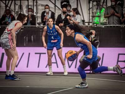 Basket 3×3: Italia, esordio con vittoria al Preolimpico di Debrecen. Taipei sconfitta alla distanza