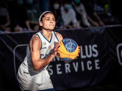 Basket 3×3: Italia, due su due al Preolimpico di Debrecen. Battuto l'Iran, le azzurre vanno in semifinale