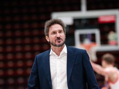 Basket: Gianmarco Pozzecco assistente di Ettore Messina all'Olimpia Milano