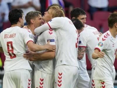 Calcio, la Danimarca travolge il Galles e vola ai quarti di finale degli Europei 2021