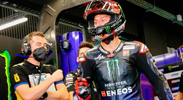 """MotoGP, Fabio Quartararo: """"Non avevo la velocità per ottenere la pole-position, va bene la prima fila"""""""