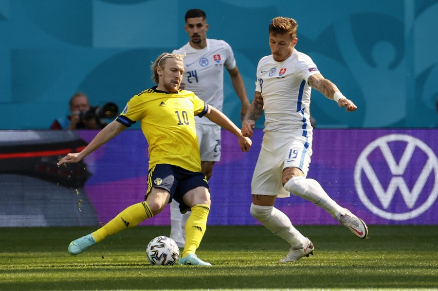 Europei | Svezia - Slovacchia 1 - 0 | Isak inventa | Forsberg realizza