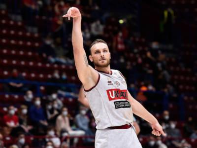 Basket: Stefano Tonut MVP della regular season in Serie A 2020-2021. Un italiano non lo era dal 2013
