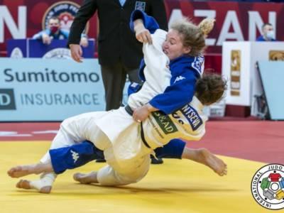 Judo, Mondiali 2021: Giorgia Stangherlin non può nulla con la giapponese Umeki ed è subito eliminata nei 78 kg