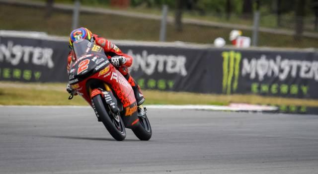 Moto3, Gabriel Rodrigo centra la pole nel GP di Catalogna, 3° Antonelli davanti a Nepa, 25° Acosta!