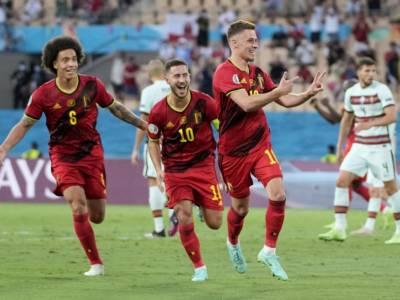 Calcio, sarà il Belgio a sfidare l'Italia nei quarti degli Europei 2021: i Diavoli Rossi battono 1-0 il Portogallo