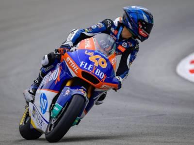 Moto2, risultato FP2 GP Olanda 2021: Héctor Garzó il più veloce sul bagnato, bene Bulega 3°. Bezzecchi chiude nono
