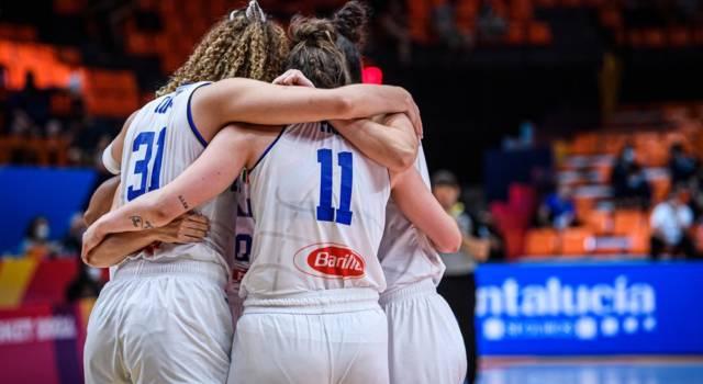 Italia-Svezia, Europei basket femminile 2021: programma, orario, tv, streaming 21 giugno