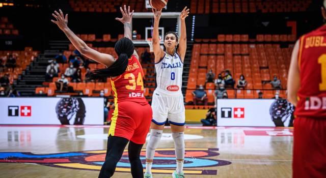Basket femminile: Italia, c'è la Grecia per blindare almeno il secondo posto