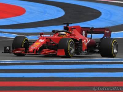 F1, GP Francia 2021: perché la Ferrari così indietro a Le Castellet? Set-up sbagliato