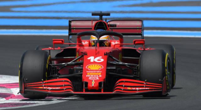 VIDEO F1, GP Francia 2021: novità aerodinamiche sulla Ferrari a Le Castellet