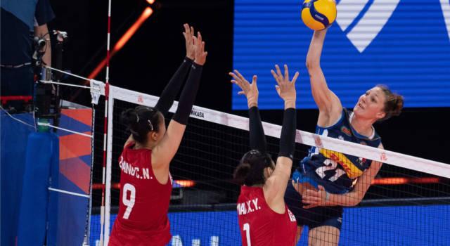 LIVE Italia-Canada 3-0, Nations League volley in DIRETTA. Nwakalor trascina le azzurre alla terza vittoria! Travolte le nordamericane