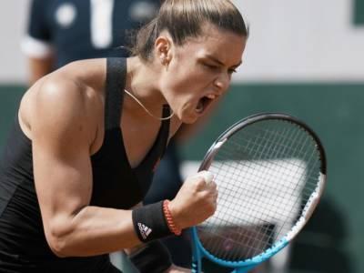 Roland Garros 2021, Maria Sakkari e Barbora Krejčíková stupiscono e volano in semifinale, cadono Gauff e Swiatek