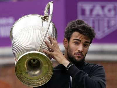 Tennis, Matteo Berrettini conquista il Queen's e lancia il guanto di sfida a tutti per Wimbledon