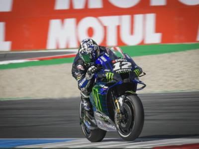 MotoGP, risultato warm-up GP Olanda 2021: Vinales ancora il migliore, Bagnaia 9° e Valentino Rossi nella top-10