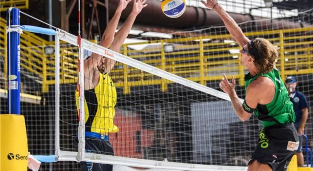 Beach volley, World Tour 2021, Ostrava. Lupo/Nicolai avanti tutta! Battuti Samoilovs/Smedins