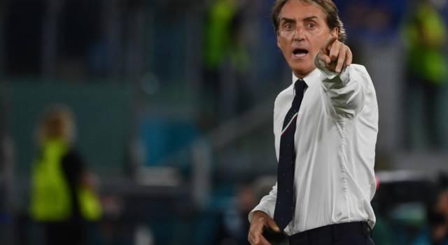 """Calcio, Roberto Mancini: """"Abbiamo meritato, già nel primo tempo potevamo fare due gol"""""""