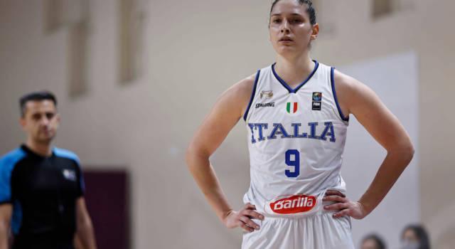 Basket femminile: Italia, buona vittoria con la Turchia in vista degli Europei