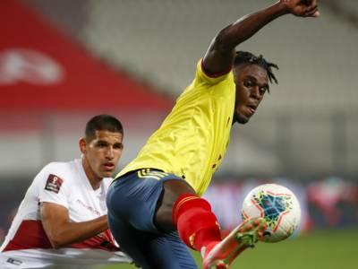 Calcio, Coppa America 2021: la Colombia cade contro il Perù, pareggio tra Venezuela ed Ecuador