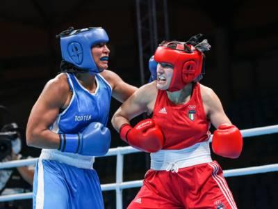 Boxe femminile, Angela Carini surclassa la francese Sonvico e vola alle Olimpiadi di Tokyo 2021!