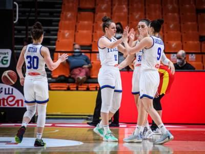 Basket femminile, Europei 2021: l'Italia cerca un posto nei quarti di finale contro la Svezia di Crespi