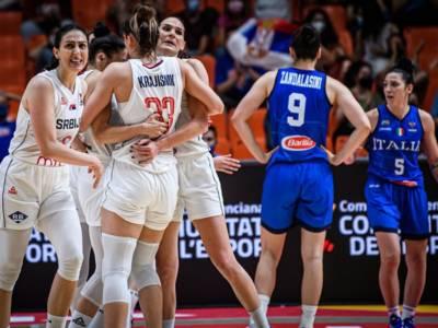 Basket femminile, Europei 2021: l'Italia sfiora l'impresa con la Serbia. Azzurre sconfitte al supplementare
