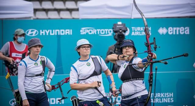 Tiro con l'arco, Olimpiadi Tokyo: ranking round già cruciale in casa Italia per il terzetto femminile e per il Mixed Team Event