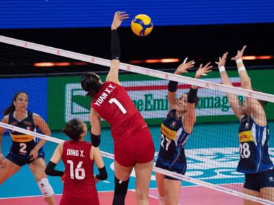 Volley femminile, Nations League 2021: la Cina si sbarazza dell'Italia in tre set. Decima sconfitta per le azzurre
