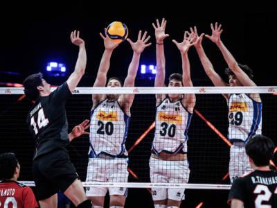 Volley, Nations League 2021: l'Italia cede al Giappone al tie-break. Quinta sconfitta per gli azzurri