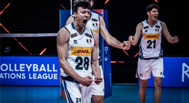 LIVE Italia-Australia 25-20 25-22 25-14, Nations League volley in DIRETTA: quarto successo per gli azzurri