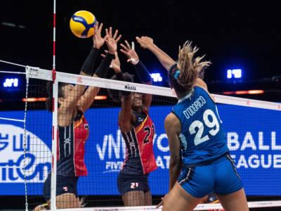 Italia-Thailandia oggi, Nations League volley femminile: orario, tv, programma, streaming