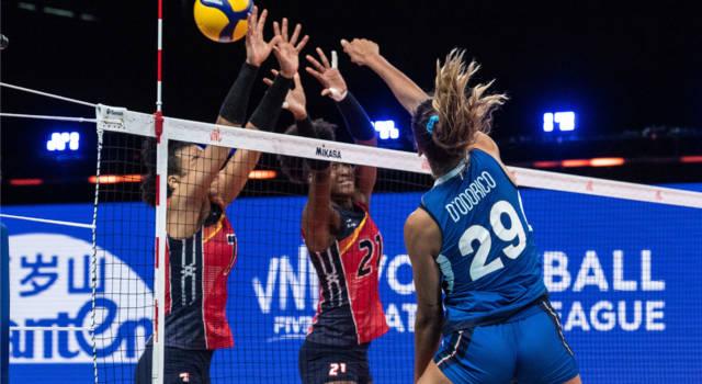 Volley femminile, Nations League: Italia-Belgio 2-3, le azzurre sconfitte al quinto set