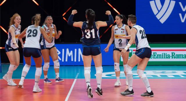 Italia-Cina oggi, Nations League volley femminile: orario, tv, programma, streaming