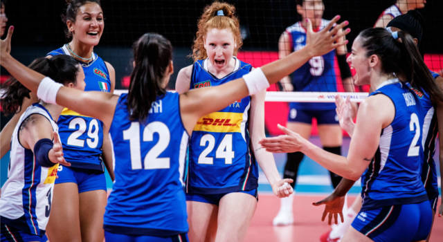 Italia-Belgio oggi, Nations League volley femminile: orario, tv, programma, streaming